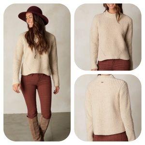 prAna Cedric Sweater Stone Color NWT